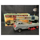 Tin Battery Op Navy Air Defense Pom Pom Truck