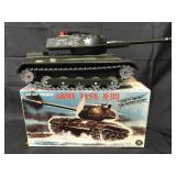 Boxed Battery Op Army Tank M-99, Japan