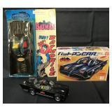 (3) Batmobile Toys, IMAI Kits, & Duncan