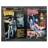 1979 Remco Energized Batman & Superman Figures