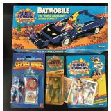Kenner Super Powers & Action Figure Lot