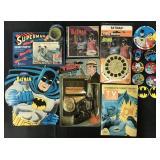 Batman Collectible & Super Hero Lot