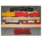 7Pc American Flyer 290 Steam Freight Set