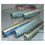 7Pc Marklin HO Steam Passenger Set
