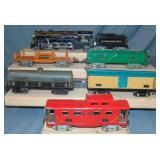 Mixed American Flyer Steam Freight Set
