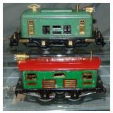 Ives 3261 & 3258 Boxcab Electrics