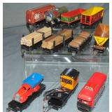 10 Clean Marx Freight Cars