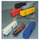 7 Lionel Freight Cars, 1 Scarce