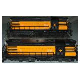 American Flyer 374 & 375 T&P GP7 AA Diesels