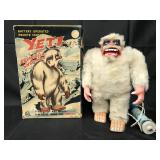 Boxed Battery Op Marx Yeti Abominable Snow Man