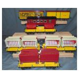 7Pc MTH Ives Circus Cars