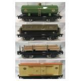 4 MTH Lionel 200 Series Freight Cars