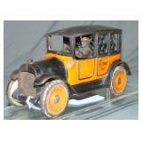 Arcade Yellow Cab Cast Iron Bank