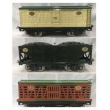 3 MTH Lionel 200 Series Freight Cars