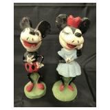 Mickey & Minnie Mouse Maquette Type Statues