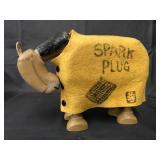 1922 Schoenhut Spark Plug with Blanket Toy