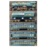 Clean Lionel 400E Blue Comet Set