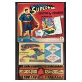 Superman Crayon by Numbers Coloring Set