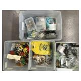 Large Lot of Plastic Toy Figures & Scenery