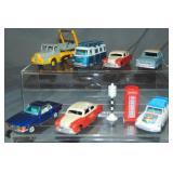 9Pc Dinky & Corgi Vehicles