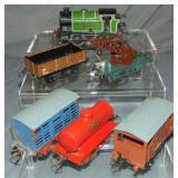 6Pc Hornby LNER Steam Freight Set