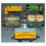 5Pc Hornby Steam Freight Set with Snow Plough