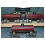 4 Lionel 10 Series Freight Cars