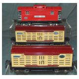 3 Lionel 2800 Series Freight Cars
