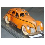 Hubley Cast Iron Lincoln Taxi