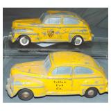 2 Different Master Casters 1948 Ford Taxis