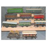 10Pc Foreign O Gauge Trains Lot