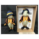 (2) Disney Jiminy Cricket Knickerbocker Dolls