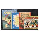 (4) Vintage Disney Jiminy Cricket Books