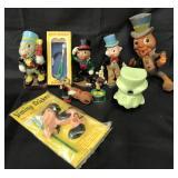 (9) Vintage Disney Jiminy Cricket Toys