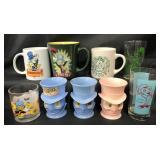 (9) Disney Jiminy Cricket Cups