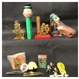(15) Vintage Disney Jiminy Cricket Items