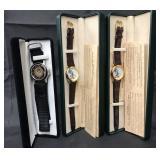 (2) Disney Jiminy Cricket Ltd Edition Watches