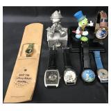 (7) Disney Jiminy Cricket Ltd Edition Watches