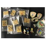 (19) Disney Jiminy Cricket Pins