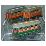 3 Early Krause Passenger Cars