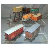 8 Bing O Gauge Freight Cars