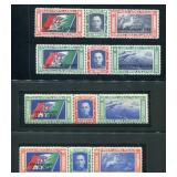 Italy Two Airmail Sets.