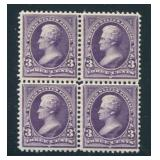 United States #268 Mint NH Block of Four.