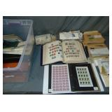 Foreign Estate Stamp Lot.