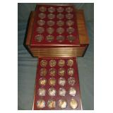Franklin Mint History of The United States.