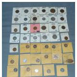 Vintage Coin and Token Lot.
