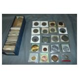 Foreign Coin and Medal Lot.