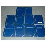 U.S. Coin Lot in Blue Books.