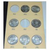 Morgan Silver Dollar Lot.