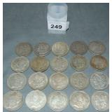 Morgan Dollar Lot of Twenty.